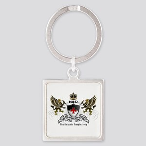 OSMTJ Logo on White Background Keychains